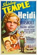 "Movie Posters:Drama, Heidi (20th Century Fox, 1937). One Sheet (27"" X 41"") Style B.. ..."