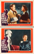 "Movie Posters:Science Fiction, The Day the Earth Stood Still (20th Century Fox, 1951). Lobby Cards(2) (11"" X 14"").. ... (Total: 2 Items)"