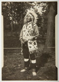 American Indian Art:Photographs, ARCHIVE OF 22 PHOTOGRAPHS RELATED TO THE FAMILY OF POTAWATOMI CHIEFSHABONNA. c. 1920...