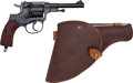 Handguns:Double Action Revolver, Russian Model Nagant 1944 Revolver....