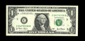 Error Notes:Major Errors, Fr. 1926-C $1 2001 Federal Reserve Note. Gem Crisp Uncirculated..This multiple printing of the face on the back has the pri...
