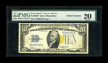Error Notes:Major Errors, Fr. 2309 $10 1934A North Africa Silver Certificate. PMG Very Fine20.. This North African note from our Taylor Family sale r...