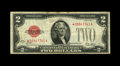 Fr. 1502* $2 1928A Legal Tender Note. Fine. This is one of the very toughest $2 Legal stars in all grades. There are som...