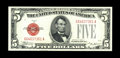 Small Size:Legal Tender Notes, Fr. 1529 $5 1928D Legal Tender Note. Very Choice Crisp Uncirculated.. This note is ever so close to a full Gem grade. The pa...