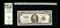 Small Size:Legal Tender Notes, Fr. 1550 $100 1966 Legal Tender Note. PCGS Gem New 66.. Another eye appealing example with behemoth margins....