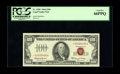 Small Size:Legal Tender Notes, Fr. 1550* $100 1966 Legal Tender Note. PCGS Gem New 66PPQ.. A lovely example of this latter day rarity, with this piece not ...