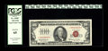 Fr. 1550* $100 1966 Legal Tender Note. PCGS Gem New 65. This is a bright and nearly flawless Gem replacement note in a P...