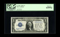 Fr. 1601* $1 1928A Silver Certificate. PCGS Choice New 63PPQ. Bright ink colors and bold embossing lead one to believe t...