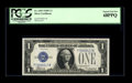 Small Size:Silver Certificates, Fr. 1605 $1 1928E Silver Certificate. PCGS Superb Gem New 68PPQ.. While the two major grading services have only been gradin...