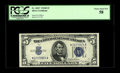 Small Size:Silver Certificates, Fr. 1652* $5 1934B Silver Certificate. PCGS Choice About New 58.. It is nearly impossible to see why this perfectly margined...