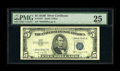 Small Size:Silver Certificates, Fr. 1657* $5 1953B Silver Certificate. PMG Very Fine 25.. This is an astounding example for the grade that has four bountifu...