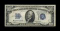 Small Size:Silver Certificates, Fr. 1703* $10 1934B Silver Certificate. Very Fine.. This is a picture-perfect VF example of this extremely rare star note. T...