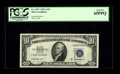 Small Size:Silver Certificates, Fr. 1707* $10 1953A Silver Certificate. PCGS Gem New 65PPQ.. This issue comes replete with a well centered back and creamy w...