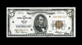 Small Size:Federal Reserve Bank Notes, Fr. 1850-K $5 1929 Federal Reserve Bank Note. Very Choice New.. Surprisingly large margins are noted at top and right, thoug...