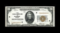 Fr. 1870-E $20 1929 Federal Reserve Bank Note. Choice Crisp Uncirculated. This serial number E00000003A example is a per...