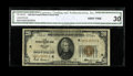 Small Size:Federal Reserve Bank Notes, Fr. 1870-K $20 1929 Federal Reserve Bank Note. CGA Very Fine 30.. A total of 468,000 notes were printed for the Dallas Distr...