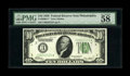 Fr. 2000-C* $10 1928 Federal Reserve Note. PMG Choice About Unc 58. Series 1928 notes are often seen this boldly printed...
