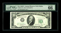 Fr. 2011-K* $10 1950A Federal Reserve Note. PMG Gem Uncirculated 66EPQ. An exceptional example of this Dallas star that...