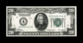 Small Size:Federal Reserve Notes, Fr. 2050-D* $20 1928 Federal Reserve Note. Choice Crisp Uncirculated.. A bright and vividly printed example which is just pl...