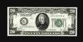 Small Size:Federal Reserve Notes, Fr. 2052-G* $20 1928B Federal Reserve Note. Fine.. This mid-grade Star has the appearance of a higher grade.. From The Bil...