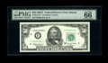 """Fr. 2113-F* $50 1963A Federal Reserve Note. PMG Gem Uncirculated 66EPQ. PMG comments """"Exceptional Paper Quality&quo..."""