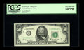 """Fr. 2113-G* $50 1963A Federal Reserve Note. PCGS Very Choice New 64PPQ. This is the first $50 with the """"In God We T..."""