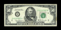 Small Size:Federal Reserve Notes, Fr. 2116-E $50 1969B Federal Reserve Note. Extremely Fine.. This is a clean, lightly circulated example form the tougher Ric...