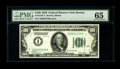 Small Size:Federal Reserve Notes, Fr. 2150-A $100 1928 Federal Reserve Note. PMG Gem Uncirculated 65.. High grade numbered district hundreds have rapidly drie...