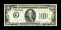 Fr. 2156-G* $100 1934D Federal Reserve Note. Choice Crisp Uncirculated. This is a scarce note in any grade but certainly...