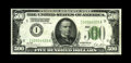 Fr. 2200-I $500 1928 Federal Reserve Note. About Uncirculated. A very scarce Series 1928 note from the Minneapolis distr...