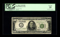 Small Size:Federal Reserve Notes, Fr. 2200-J $500 1928 Federal Reserve Note. PCGS Very Fine 25.. Some of the original embossing is noted on back.. Ex: Ricke...