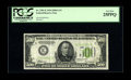 Fr. 2201-E $500 1934 Light Green Seal Federal Reserve Note. PCGS Very Fine 25PPQ. This is a truly exceptional high denom...