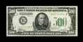 Small Size:Federal Reserve Notes, Fr. 2202-B $500 1934-A Federal Reserve Note. Choice About Uncirculated.. A very light centerfold is all that keeps this abun...