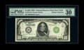 Fr. 2210-B $1000 1928 Federal Reserve Note. PMG Very Fine 30 EPQ. Though the Oakes opus does not indicate this issue is...