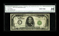 Fr. 2210-C* $1000 1928 Federal Reserve Note. CGA Very Fine 35. The number of known examples of this Philadelphia replace...
