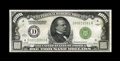 Small Size:Federal Reserve Notes, Fr. 2210-D $1000 1928 Federal Reserve Note. Very Fine-Extremely Fine.. Though the number of folds leads to a technical grade...