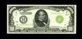 Small Size:Federal Reserve Notes, Fr. 2210-H $1000 1928 Light Green Seal Federal Reserve Note. Choice Crisp Uncirculated.. An exceptionally well centered and ...