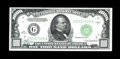Small Size:Federal Reserve Notes, Fr. 2211-G $1000 1934 Federal Reserve Note. Choice Crisp Uncirculated.. Bright and attractive, although the centering is a b...