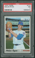 Baseball Cards:Singles (1970-Now), 1970 Topps Nolan Ryan #712 PSA NM 7....