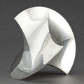 Silver & Vertu:Hollowware, A TIFFANY & CO. SILVER ABSTRACT SCULPTURE . Tiffany & Co., New York, New York, 1979. Marks: TIFFANY & CO., STERLING, MADE ...