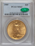 Saint-Gaudens Double Eagles, 1909 $20 MS62 PCGS. CAC....