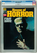 Magazines:Horror, House of Horror #1 (Warren, 1978) CGC NM- 9.2 White pages....