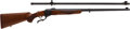 Long Guns, **Cased 45-70 Ruger/Lyman Centennial 1878 Edition II Rifle and Telescopic Sight Set....