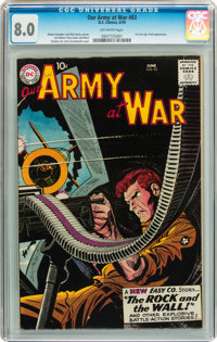 Our Army at War #83 (DC, 1959) CGC VF 8.0 Off-white pages