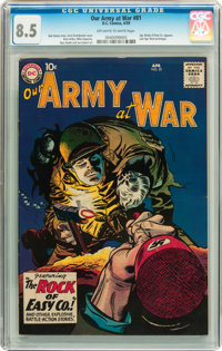 Our Army at War #81 (DC, 1959) CGC VF+ 8.5 Off-white to white pages