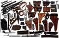Arms Accessories, Lot of Holsters, Pouches, Bayonets, and Knives....