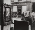 Photographs:20th Century, ROBERT DOISNEAU (French, 1912-1994). Un Regard Oblique,1948. Gelatin silver, printed later. 13 x 14-3/4 inches (33.0 x ...