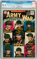 Silver Age (1956-1969):War, Our Army at War #112 (DC, 1961) CGC VF+ 8.5 Cream to off-white pages....