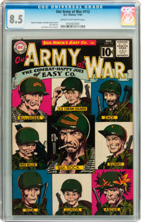Our Army at War #112 (DC, 1961) CGC VF+ 8.5 Cream to off-white pages