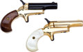 Handguns:Derringer, Palm, Cased Colt Lord and Lady Deringer Set....